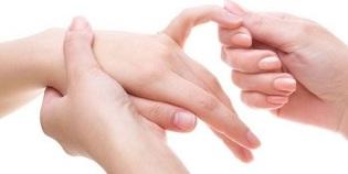 kaed sormede liigese