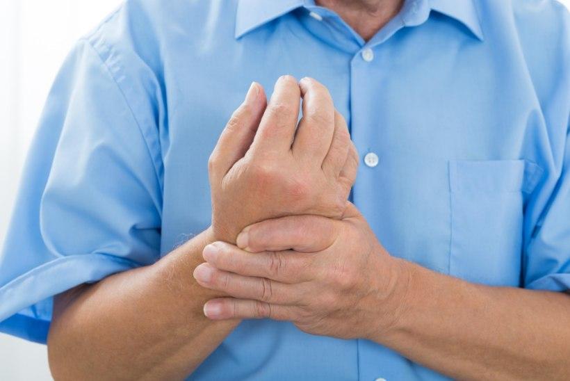 artroosi bursiitiga vasakul olaravi