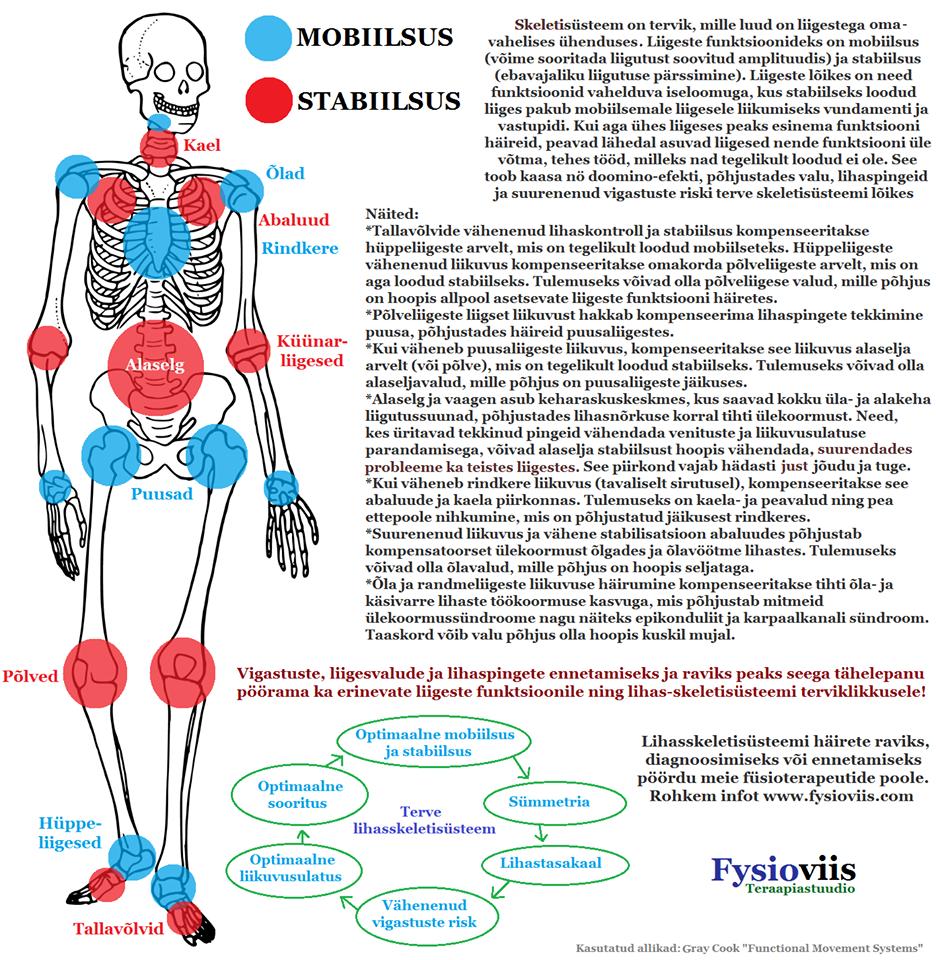 liigendid haiget juure pohjus
