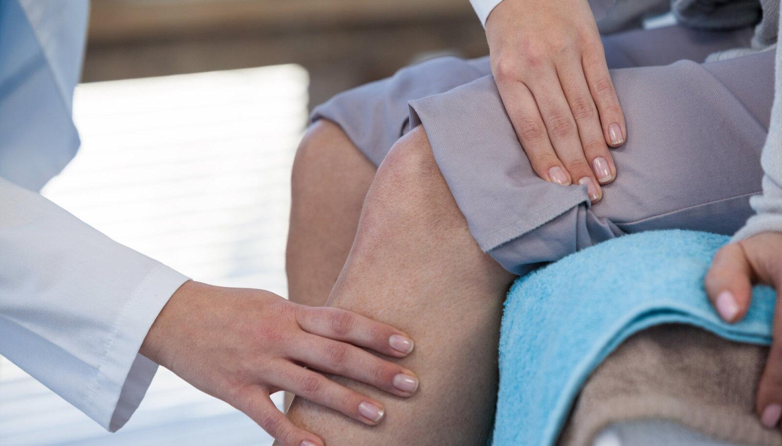 hoidke valu parast magamist vaikeste jala liigeste artriidi margid